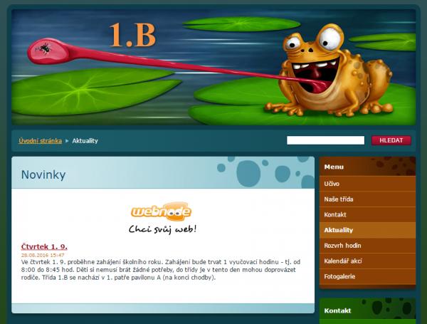 II.B – Žabky z Béčka