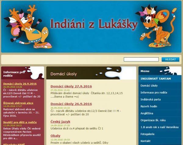III.B – Indiáni z Lukášky